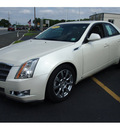 cadillac cts 2009 white sedan 3 6l di gasoline 6 cylinders all whee drive automatic 07730