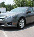 ford fusion 2012 gray sedan sel gasoline 4 cylinders front wheel drive automatic 27616