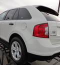 ford edge 2012 white se gasoline 4 cylinders front wheel drive automatic 37087