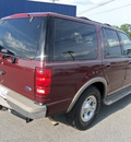 ford expedition 2001 dk  red suv eddie bauer gasoline 8 cylinders rear wheel drive automatic 37087