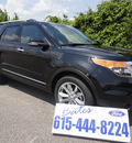 ford explorer 2013 black suv xlt flex fuel 6 cylinders 2 wheel drive automatic 37087