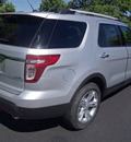 ford explorer 2013 silver suv limited flex fuel 6 cylinders 4 wheel drive automatic 37087