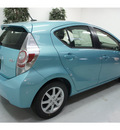 toyota prius c 2012 blue hatchback four hybrid 4 cylinders front wheel drive automatic 91731