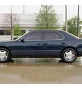 lexus ls 400 1998 blue sedan gasoline v8 rear wheel drive automatic 77002