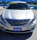 hyundai sonata 2012 silver sedan gls gasoline 4 cylinders front wheel drive 6 speed manual 76206