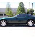 chevrolet corvette 1996 green hatchback gasoline v8 rear wheel drive 6 speed manual 77002