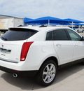 cadillac srx 2012 silver suv performance collection flex fuel 6 cylinders front wheel drive 6 speed automatic 76206