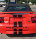 ford mustang 2004 orange deluxe gasoline 6 cylinders rear wheel drive automatic 77301