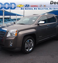 gmc terrain 2012 brown suv slt 2 flex fuel 4 cylinders front wheel drive 6 speed automatic 76234