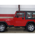 jeep wrangler 1991 red s gasoline 4 cylinders 4 wheel drive 5 speed manual 79110