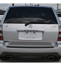 acura mdx 2005 silver suv gasoline 6 cylinders all whee drive 5 speed automatic 78233