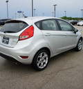 ford fiesta 2012 silver hatchback ses gasoline 4 cylinders front wheel drive automatic 75119