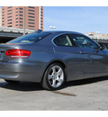 bmw 3 series 2007 gray coupe 328xi gasoline 6 cylinders all whee drive automatic 77002