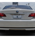 bmw 7 series 2008 white sedan 750li gasoline 8 cylinders rear wheel drive automatic 77002