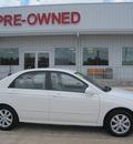 kia spectra 2007 white sedan lx gasoline 4 cylinders front wheel drive automatic 77301