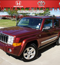 jeep commander 2008 dk  red suv limited gasoline 8 cylinders 4 wheel drive 5 speed with overdrive 76210