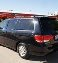 honda odyssey 2009 black van ex l gasoline 6 cylinders front wheel drive 5 speed automatic 76210