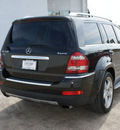 mercedes benz gl class 2009 stone green suv gl550 gasoline 8 cylinders 4 wheel drive automatic 75080