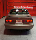 toyota camry 1999 beige sedan xle v6 gasoline 6 cylinders front wheel drive automatic with overdrive 76116