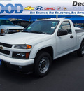 chevrolet colorado 2012 white work truck gasoline 4 cylinders 2 wheel drive automatic 76234