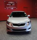toyota corolla 2010 silver sedan s gasoline 4 cylinders front wheel drive automatic 76116