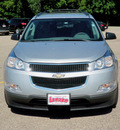 chevrolet traverse 2010 silver suv ls gasoline 6 cylinders all whee drive automatic 55318