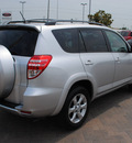 toyota rav4 2009 silver suv limited gasoline 4 cylinders 2 wheel drive automatic 76087