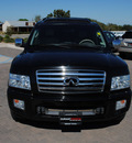 infiniti qx56 2005 black suv gasoline 8 cylinders 4 wheel drive automatic 76087