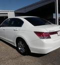 honda accord 2011 white sedan se gasoline 4 cylinders front wheel drive automatic 76543