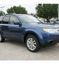 subaru forester 2012 blue wagon 2 5x premium gasoline 4 cylinders all whee drive automatic 77099