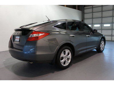 honda accord crosstour 2011 gray wagon ex l gasoline 6 cylinders front wheel drive 5 speed automatic 77471