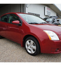 nissan sentra 2009 dk  red sedan 2 0 fe gasoline 4 cylinders front wheel drive automatic 76543
