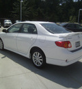 toyota corolla 2009 white sedan s gasoline 4 cylinders front wheel drive automatic 75503