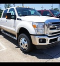ford f 450 super duty 2012 white biodiesel 8 cylinders 4 wheel drive shiftable automatic 77338