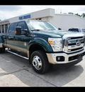 ford f 450 super duty 2011 dk  green biodiesel 8 cylinders 4 wheel drive shiftable automatic 77338
