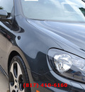 volkswagen gti 2011 gray hatchback gasoline 4 cylinders front wheel drive automatic 76051