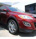 mazda cx 9 2011 dk  red grand touring gasoline 6 cylinders front wheel drive automatic 77598
