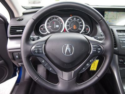 acura tsx 2011 dk  blue sedan v 6 w tech gasoline 6 cylinders front wheel drive automatic 76011