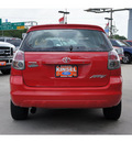 toyota matrix 2006 red hatchback gasoline 4 cylinders front wheel drive automatic 77706