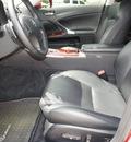 lexus is 250 2008 red sedan gasoline 6 cylinders rear wheel drive automatic 76087