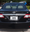 toyota corolla 2011 black sedan le gasoline 4 cylinders front wheel drive automatic 76011