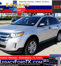 ford edge 2012 silver suv se gasoline 6 cylinders front wheel drive shiftable automatic 77471