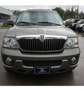 lincoln navigator 2003 gray suv luxury gasoline 8 cylinders dohc rear wheel drive automatic 77339