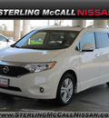 nissan quest 2011 white van 3 5 le gasoline 6 cylinders front wheel drive automatic with overdrive 77477