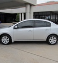 nissan sentra 2009 silver sedan 2 0 s gasoline 4 cylinders front wheel drive cont  variable trans  77477