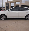kia forte 5 door 2012 white hatchback ex gasoline 4 cylinders front wheel drive automatic 75150