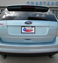 ford edge 2008 lt  blue suv limited gasoline 6 cylinders front wheel drive 6 speed automatic 77026