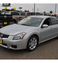nissan maxima 2008 silver sedan se gasoline 6 cylinders front wheel drive cont  variable trans  78550
