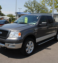 ford f 150 2005 gray xlt gasoline 8 cylinders 4 wheel drive automatic with overdrive 76087