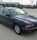 bmw 5 series 1998 blue sedan 528i gasoline 6 cylinders rear wheel drive automatic 76087